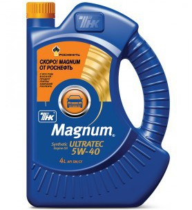 "ТНК Magnum <span style=""font-weight: bold;"">Ultratec 5W-40</span><br>"