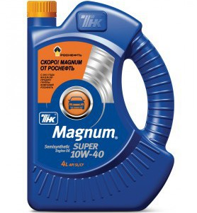 "ТНК Magnum    <span style=""font-weight: bold;"">Super 10W-40</span><br>"